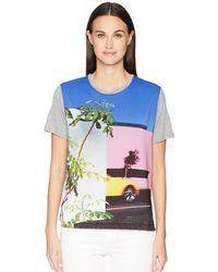 Paul Smith - La T-shirt (grey) Women's T Shirt - Lyst
