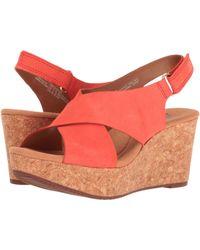 48b54c80050 Clarks - Annadel Eirwyn (gold Metallic) Women s Sandals - Lyst