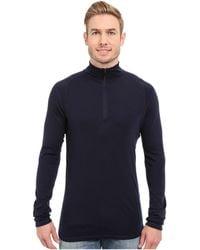 Smartwool - Nts Mid 250 Zip T Top (sumatra Heather) Men's Long Sleeve Pullover - Lyst