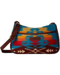 Pendleton - Crossbody (tucson Turquoise) Cross Body Handbags - Lyst