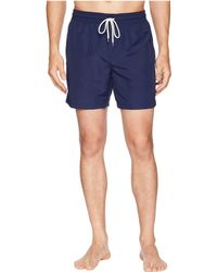 0254e396f6 ... wholesale polo ralph lauren traveler swim shorts newport navy mens  swimwear lyst 220d8 8500a