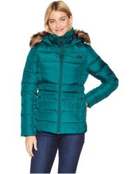 The North Face - Gotham Jacket Ii (botanical Garden Green) Women's Coat - Lyst