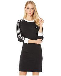 d1e569671e3 adidas Originals 3-stripes Dress (dust Pink) Women's Dress in Pink ...