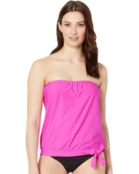 bfcc3a8335fdf Athena - Samba Solids Blouson Bandini With Removable Cups (pink) Women's  Swimwear - Lyst