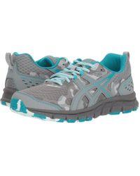 Asics - Gel-scram 4 (mid Grey/lagoon) Women's Running Shoes - Lyst