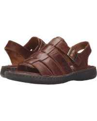 Born - Joshua (cymbal Full Grain Leather) Men's Sandals - Lyst