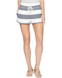 Roxy - Away From Today (marshmallow Dress Blue Docker) Women's Fleece - Lyst
