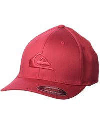 5e33e021905 Quiksilver - Mountain And Wave Hat (raven) Caps - Lyst