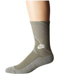Nike - Sportswear Texture Knit Crew Socks (dark Stucco/light Bone) Men's Crew Cut Socks Shoes - Lyst