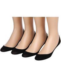 Hue | Hidden Cotton Liner 4-pair Pack | Lyst