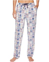 Nautica - Printed Knit Long Pants - Lyst
