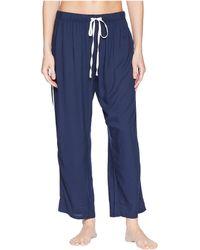 Splendid - Woven Crop Pajama Pants (deep Pacific) Women's Pajama - Lyst