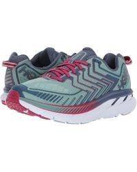 Hoka One One - Clifton 4 (red Orange/peacoat) Women's Running Shoes - Lyst
