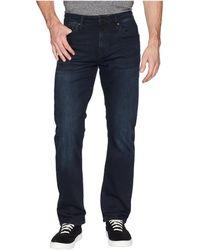 Mavi Jeans - Matt Mid-rise Relaxed Straight Leg In Ink Brushed Williamsburg (ink Brushed Williamsburg) Men's Jeans - Lyst