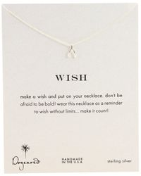 Dogeared - Wish Reminder 16 Inch - Lyst