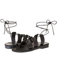 Jerusalem Sandals - Deborah (black) Women's Sandals - Lyst