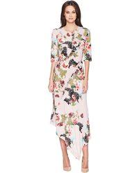 Preen By Thornton Bregazzi - Tegen Dress (pink Floral) Women's Dress - Lyst