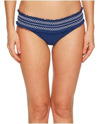 Tory Burch   Costa Embroidered Hipster Swim Bottom   Lyst