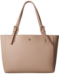 Tory Burch - York Small Buckle Tote - Lyst