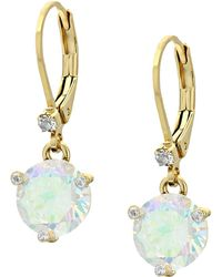 Kate Spade - Rise And Shine Leverbacks Earrings - Lyst