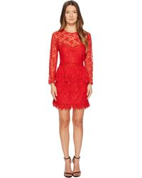 The Kooples - Lace Dress With Floral Details - Lyst