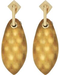 Alexis Bittar | Lucite Post W/ Back Pave Ball Detail Earrings | Lyst