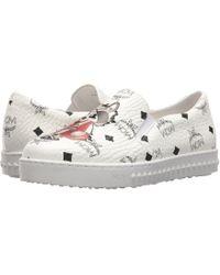 MCM - Rabbit Viseto Slip-on Sneaker (white) Women's Shoes - Lyst