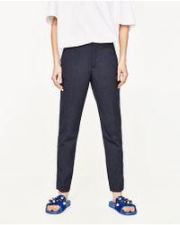 Shop Women's Zara Pants from $20 | Lyst
