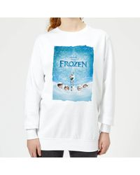 231ed7bf753 Gucci Sequin Snow White Sweatshirt in Natural - Lyst