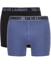 Tokyo Laundry - Eversholt 2 Pack Boxers - Lyst