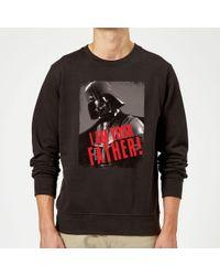 Star Wars - Darth Vader I Am Your Father Gripping Sweatshirt - Lyst