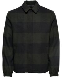 Only & Sons - Shawn Wool Jacket - Lyst