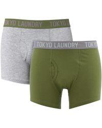 Tokyo Laundry - Harleton 2 Pack Boxers - Lyst