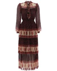 Zimmermann - Jaya Stamp Layer Dress - Lyst
