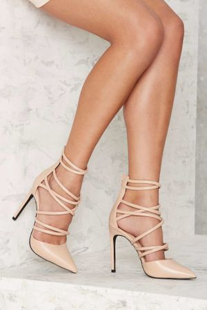 Lace up heels-image-2