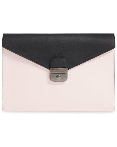 Longchamp - \u0027le Pliage - Heritage\u0027 Envelope Clutch - Lyst