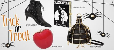 Trick or Treat: 16 Chic & Spooky Styles