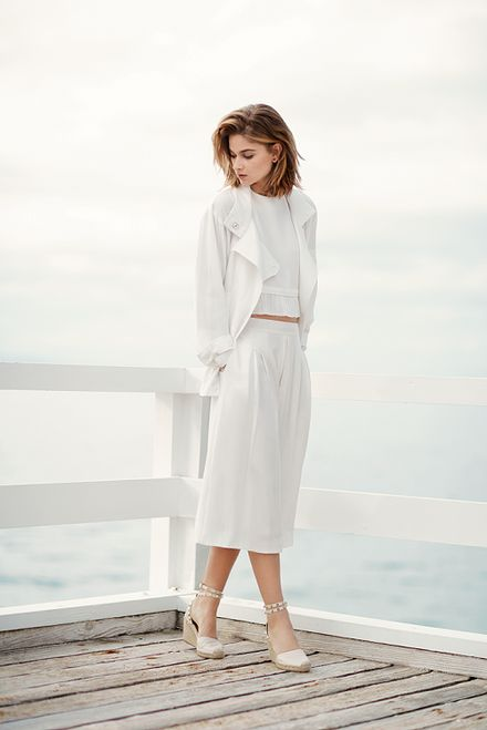 INTERMIX Shows You How to Wear All White Like a Pro