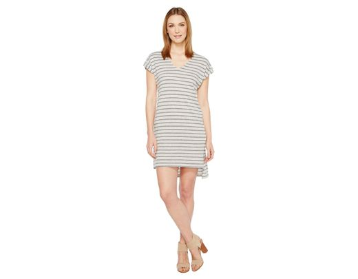 95f2f8322f4 Lyst - Alternative Apparel Eco Jersey Yarn Dye Stripe Escapade Dress ...