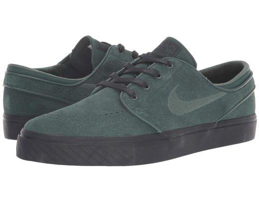 008025498cffe Lyst - Nike Zoom Stefan Janoski – Suede in Green for Men - Save 18%