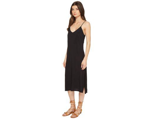 6fdb4bfd144 RVCA Chasing Shadows Dress in Black - Save 28% - Lyst