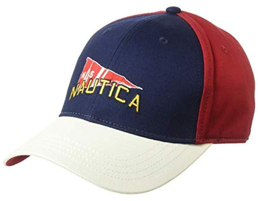 30cde70663bc2a Lyst - Nautica J-class 6-panel Signal Flag Cap Hat, Red, One Size in ...