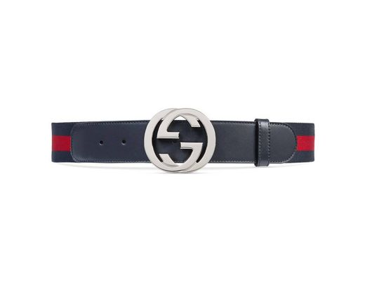 be582c75e Gucci Web Belt With G Buckle in Blue for Men - Save 16% - Lyst