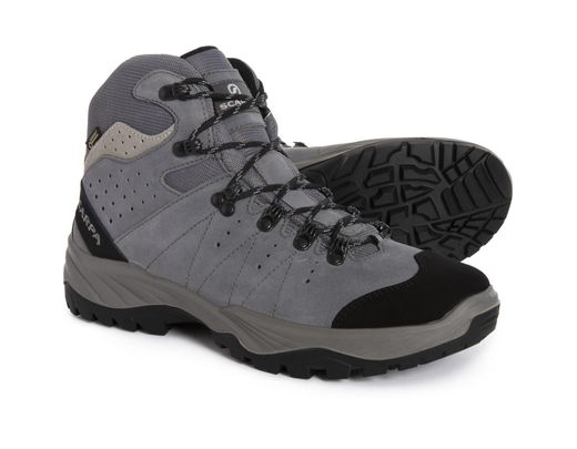 478f6c05731 Men's Gray Made In Italy Mistral Gore-tex(r) Hiking Boots