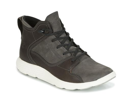 f13158cd523 Timberland Flyroam Leather Hiker Shoes (high-top Trainers) in Black for Men  - Lyst