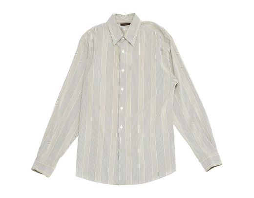 84222be9f1a1 Louis Vuitton Grey Cotton Shirts in Gray for Men - Lyst