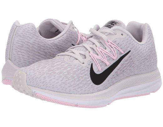 cfefdb244057 Nike. Gray Air Zoom Winflo 5 (black white anthracite) Women s Running Shoes