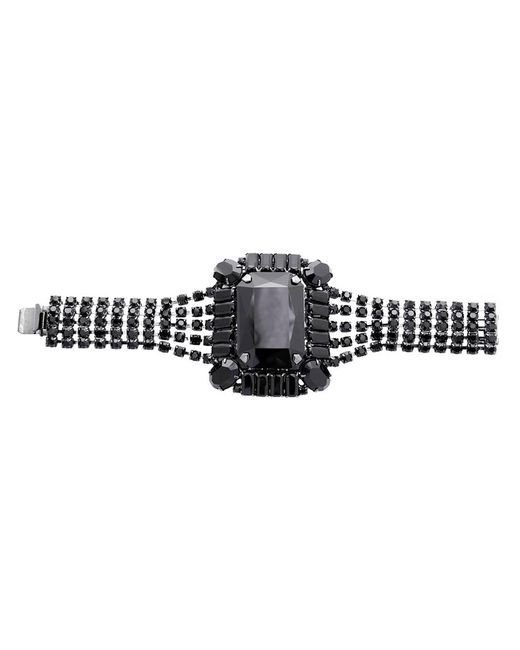 Tom Binns | Black Square Gem Crystal Bracelet | Lyst