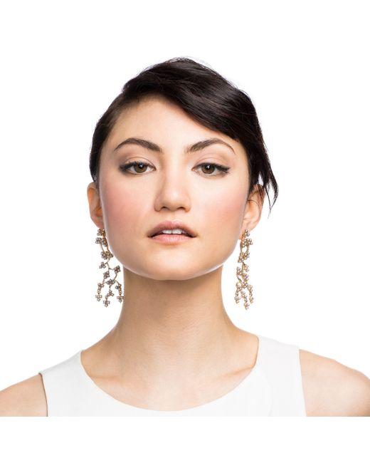 Lulu Frost | Metallic Jackie Drop Earring | Lyst