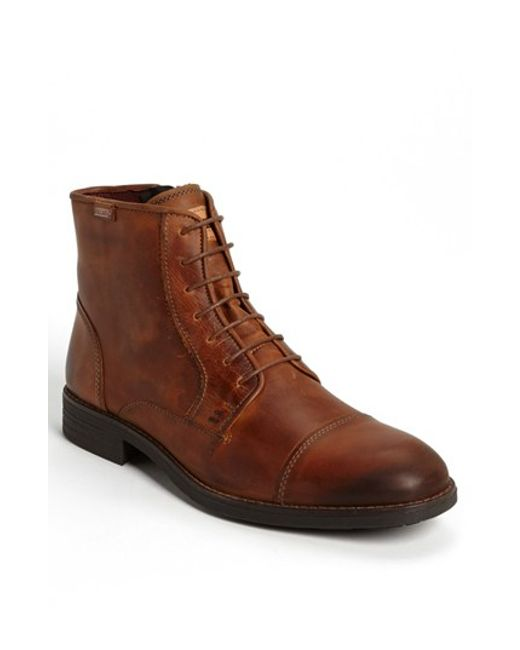 Pikolinos | Brown 'pamplona' Cap Toe Boot for Men | Lyst